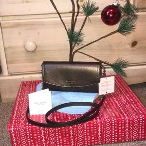 ♠️Kate spade Eva leather chain strap wallet